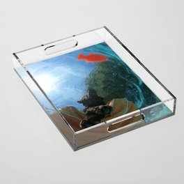 Below the Surface Acrylic Tray