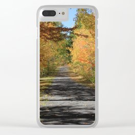 A Walk With Nature - Autumn Photography Clear iPhone Case