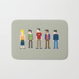 The Big Bang Theory 8-Bit Bath Mat