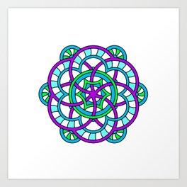 Celtic | Colorful | Mandala Art Print