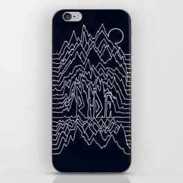 Ride Lines iPhone Skin