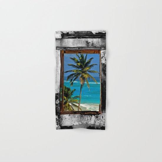 WINDOW ON PARADISE Hand & Bath Towel