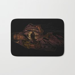 49-Lady With The Lamp Bath Mat