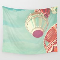 carnival Wall Tapestries featuring Carnival  by Scarlett Ella
