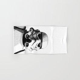 Stormtrooper Hand Drawn Dotwork - StarWars Pointillism Artwork Hand & Bath Towel