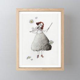 Picture Three:  The Violin Framed Mini Art Print
