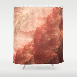 Mountain.Forge Shower Curtain