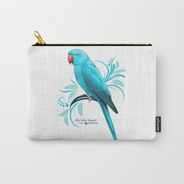 Bue Indian Ringneck Parrot Carry-All Pouch