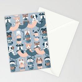 Knitting dog feelings I Stationery Cards