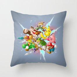 Keep Calm and Smash! Throw Pillow