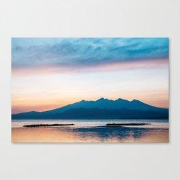 Sunrise in Bali Canvas Print