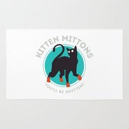 kitten mittons ,you'll be smitten ! Rug