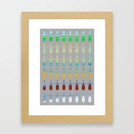 Longer summer Framed Art Print