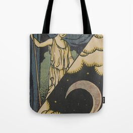 Lune Moon Tote Bag