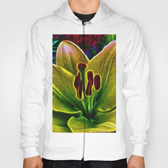 BrightYellow Lily Hoody