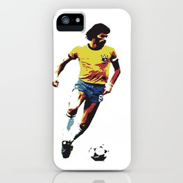 Socrates, Brazilian soccer superman iPhone Case
