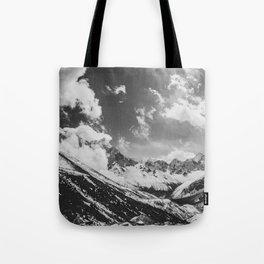 Everest base camp Tote Bag