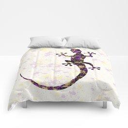 Abstract Lizard Comforters
