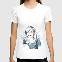 emma stone T-shirts featuring Emma by naidl