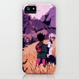 gon and killua iPhone Case