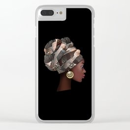 girl Clear iPhone Case