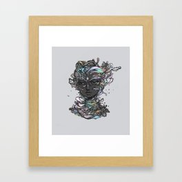 Interplay of Color Framed Art Print