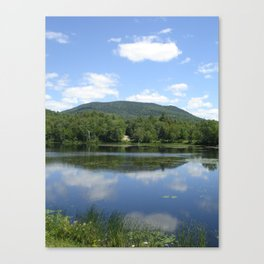Tupper Lake Canvas Print