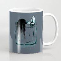 pocket Mugs featuring Pocket Samara by Mike Handy Art
