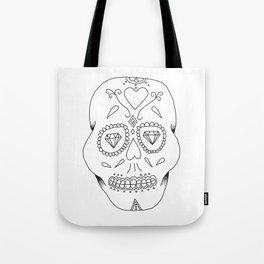 Mexican Skull Tote Bag