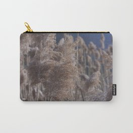 Reeds on Lake Lugano Carry-All Pouch