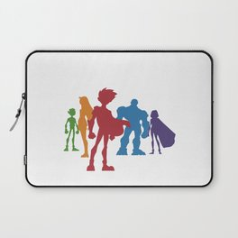 [ Teen Titans ] Robin, Starfire, Raven, Beast Boy and Cyborg Laptop Sleeve