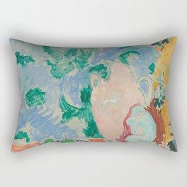 Still Life with Aubergines by Henri Matisse Rectangular Pillow