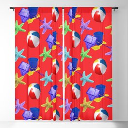 Rock Pooling Blackout Curtain