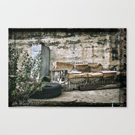 Vintage Trash Canvas Print