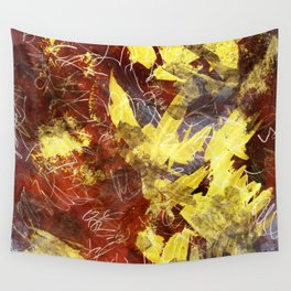 Gold Glow Wall Tapestry