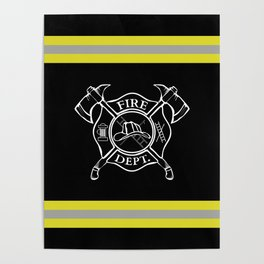 Firefighter Home Poster