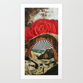 Prayer to the Rising Sun Art Print