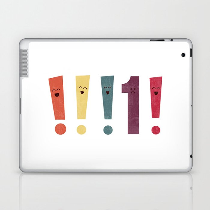 Out Of Place Laptop & iPad Skin