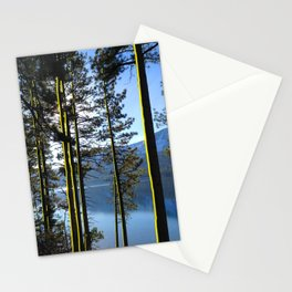 Golden Forest Stationery Cards