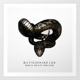 Rattlesnake Jar Art Print