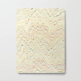 lines III Metal Print