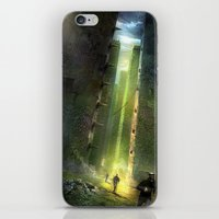 maze runner iPhone & iPod Skins featuring The Maze Runner by TK Studios