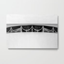 Frank Lloyd Windows Metal Print