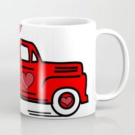 My little red valentine truck Coffee Mug