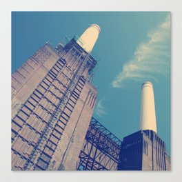 Battersea Power Station 2 Canvas Print