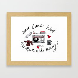 High Fidelity Framed Art Print