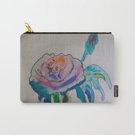 Flower inspiration modern paintings by Christian T. Carry-All Pouch