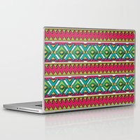 aztec Laptop & iPad Skins featuring Aztec by Shelly Bremmer