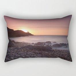 Dawn at Bracelet Bay Rectangular Pillow