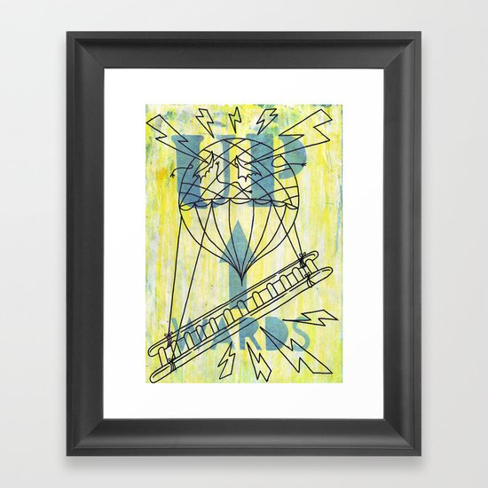 Onwards......and....... Framed Art Print